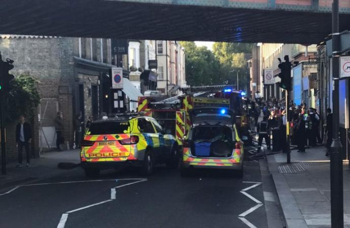 Breaking News: Explosion on London underground train in the U. K. Terrorist attack or something else?