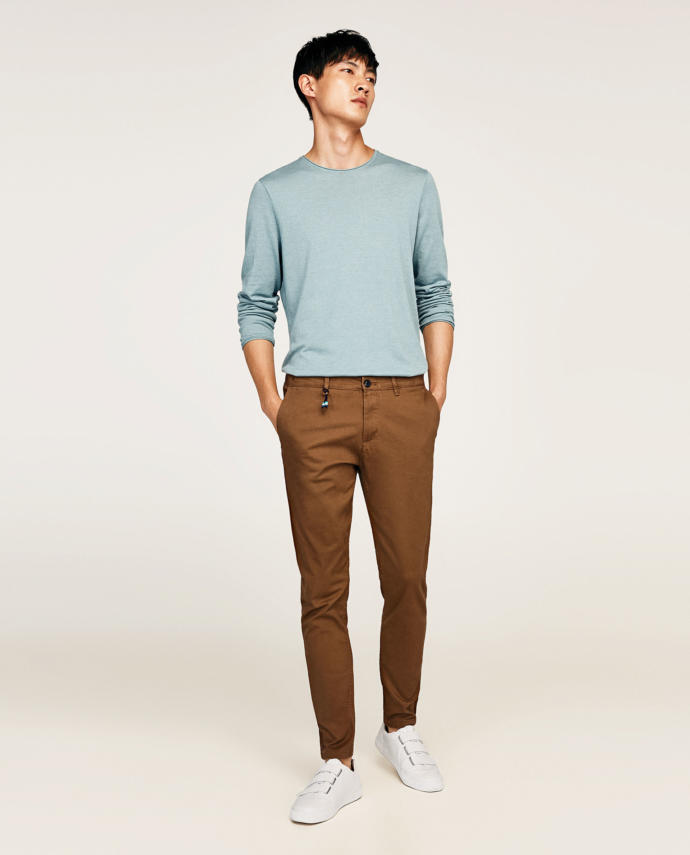 does this chinos looks too old?