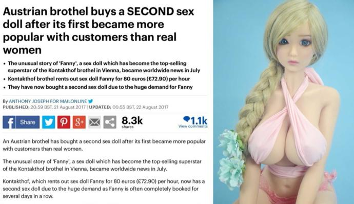 Are sex dolls the future of sex??