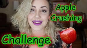 Green Apple or Red apple have you ever tried apple crush challenge? It takes less than 1 min to me & 3.26 seconds my friend Anna. In how much sec udo?