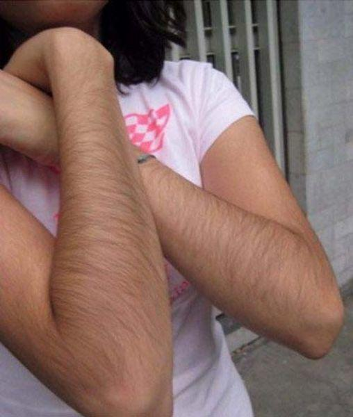 Is it weird that l'm attracted to women with hairy arms?