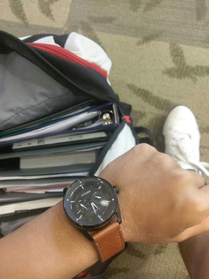 What do you think my watch??