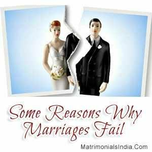 What do you think marriages fail??