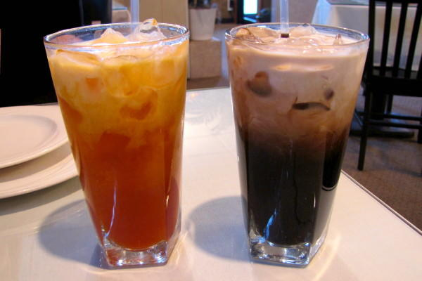 Ever had Thai tea/coffee?