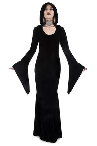Do you like this maxi dress choice for the colder weather?