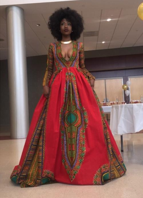 What do you think of this Dashiki dress?