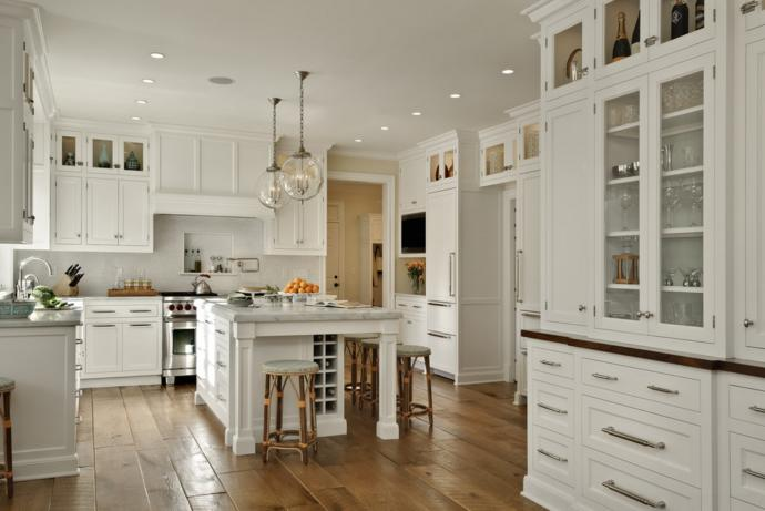 You want your dream kitchen to look most like?