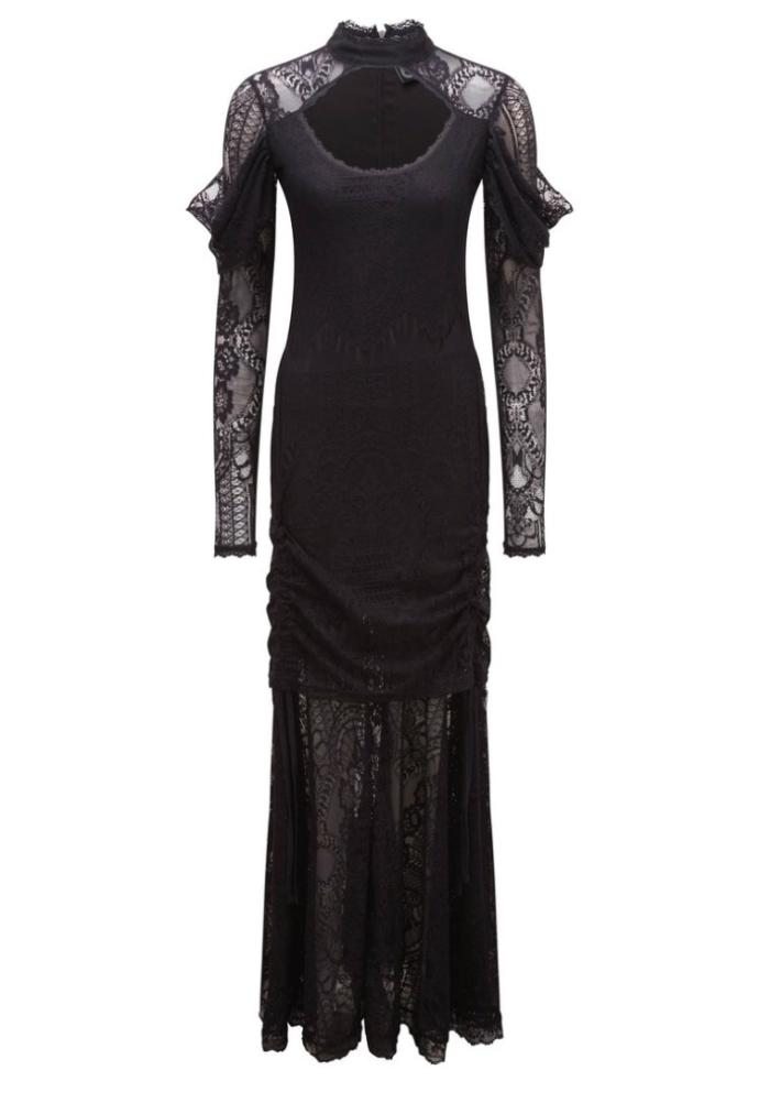 Do you like this lace maxi dress ?