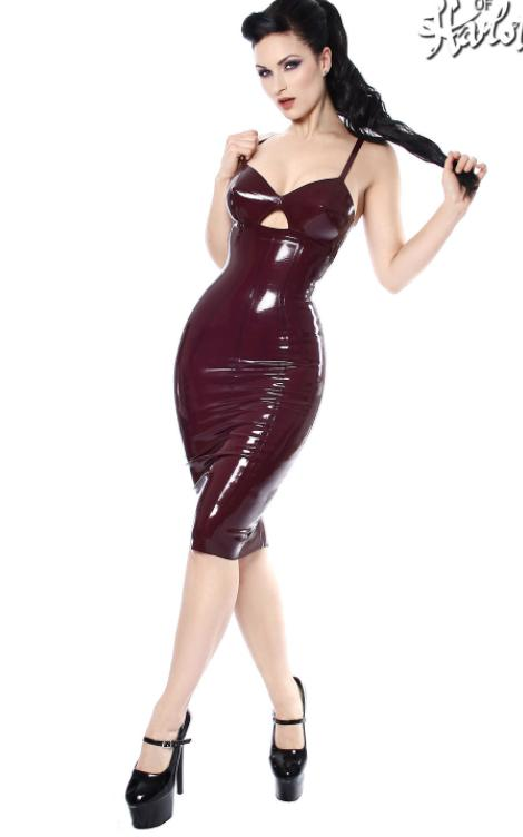 Do you like latex dresses?