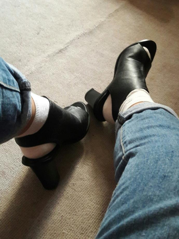Socks with heels??