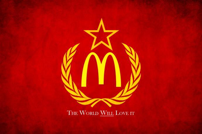 Is McDonalds a pro-communist outlet?