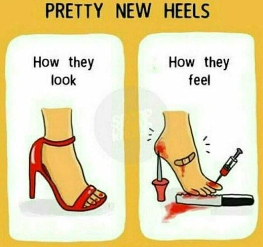 Heels? Do they hurt??