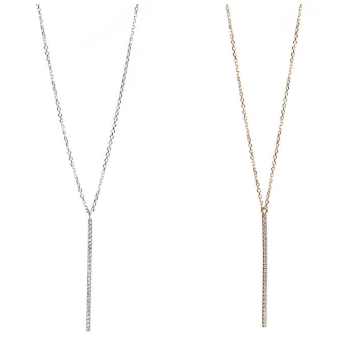 Which necklace is cuter?