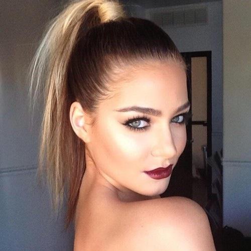 Are sleek, slick back ponytails attractive?