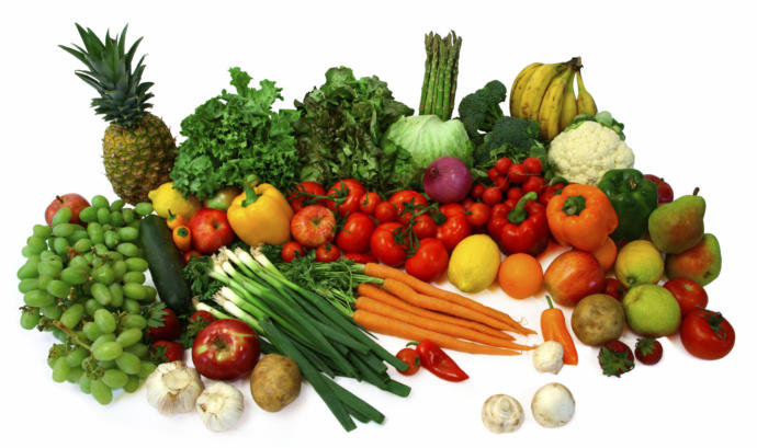 Your favorite vegetable and fruit ?