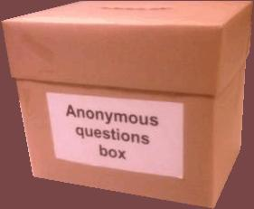 Do you answer Anonymous questions on G@G? And do you allow anonymous answers to your own questions?