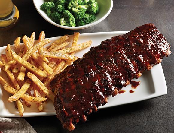 Choose one: Ribs or steak?