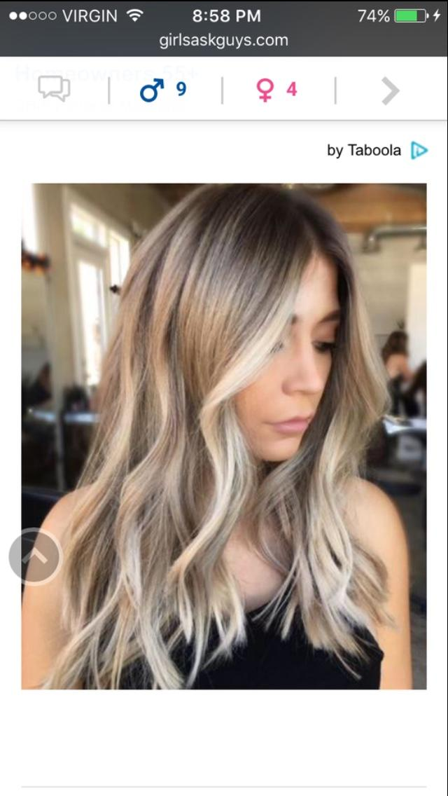 What hair color looks best?
