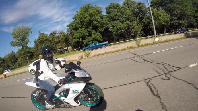 Is riding a motorcycle intimidating for guys?