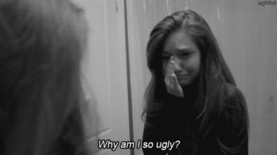 i am an ugly girl