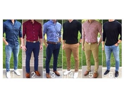 Ladies, which one looks better on a man?