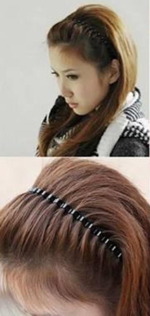 Guys, which of these everyday hairstyles do you prefer on a girl with long hair?