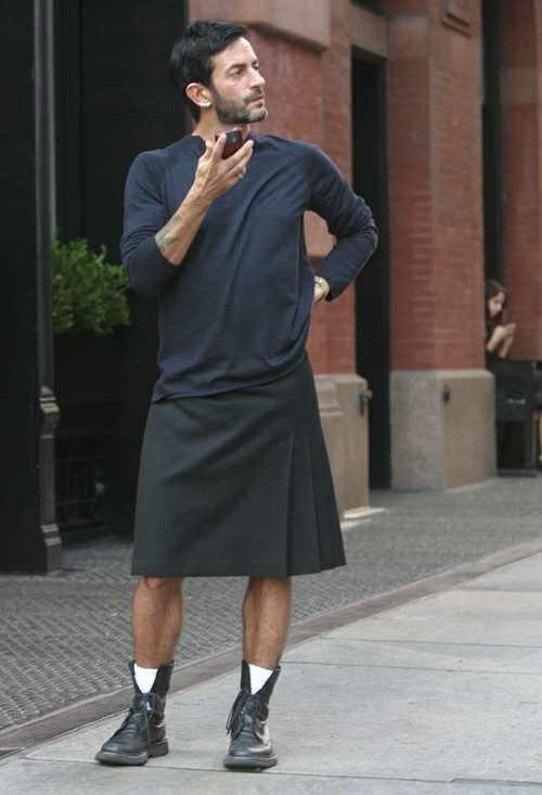 Guys can wear skirts and heels too....right??
