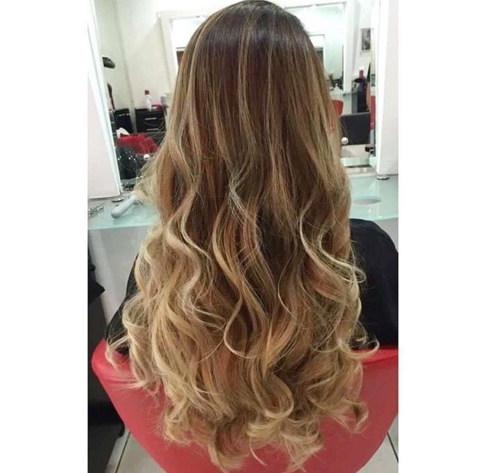 Which hair looks prettier?