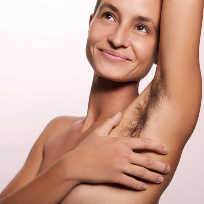 How do you like underarm hair?