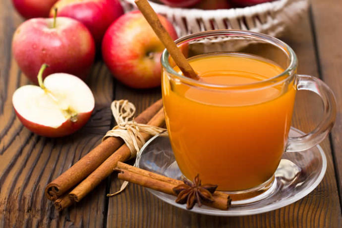 Apple cider or hot chocolate?