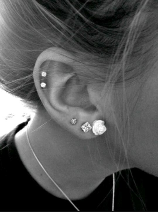 Cartilage ear piercing, attractive or not??