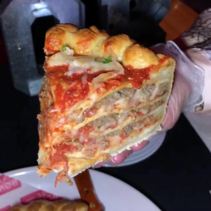 """Would you ever try a """"Pizza cake""""??"""