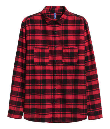 black and white or black and red flannel?