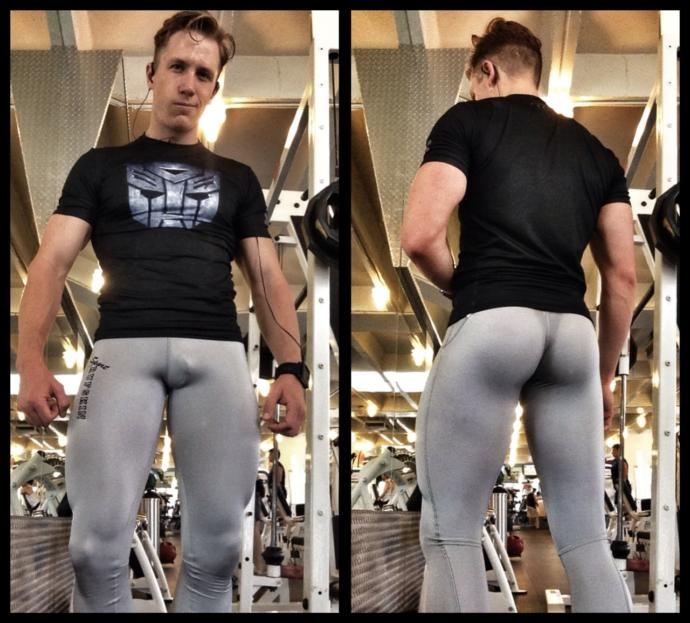 Girls, what do you think about guys wearing leggings? Does this look good?