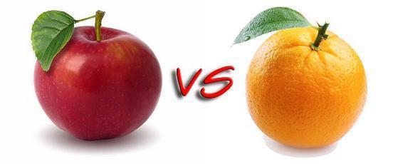 Do you prefer apples or oranges?