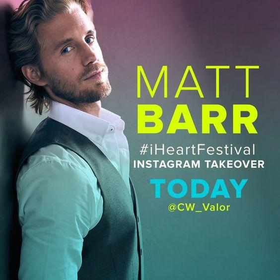 How Many of You Think This Actor (Matt Barr) Is Sexy? If so, What About Him?