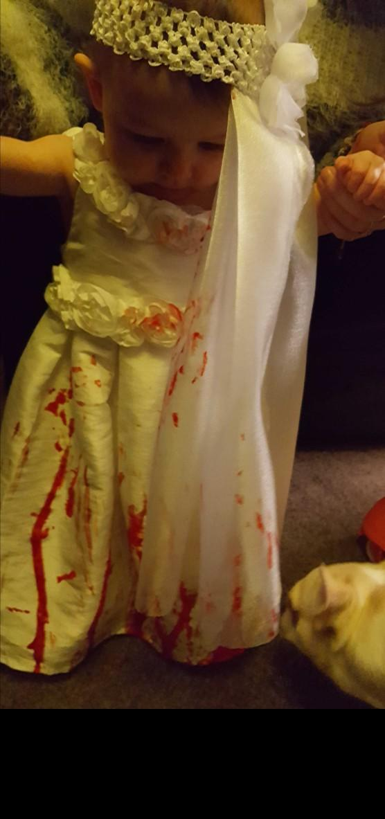 What have you all dresssed up as for Halloween??