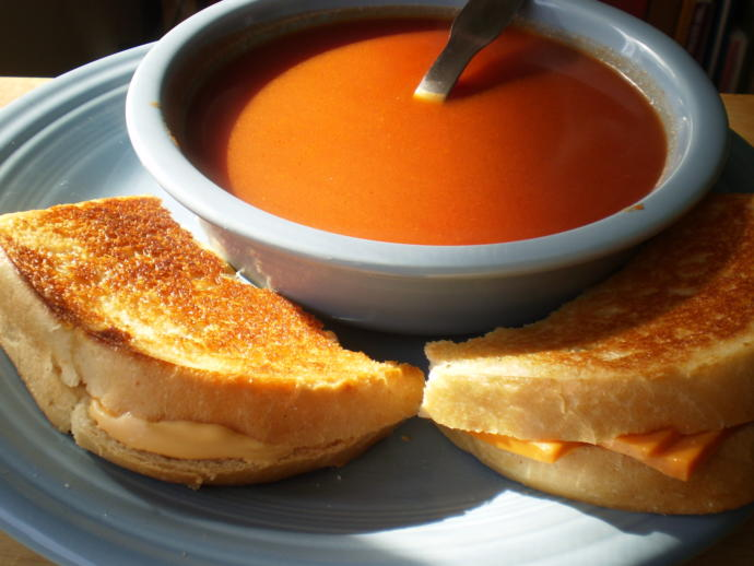 Do you like tomato soup with grilled cheese?