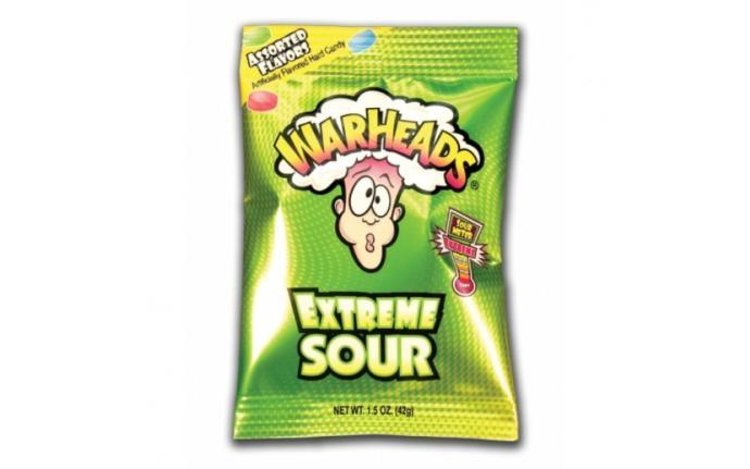 Do you like warheads extreme sour hard candy?