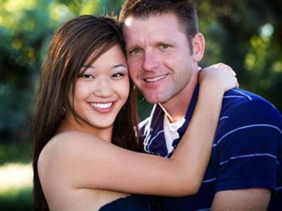 asian female dating white male