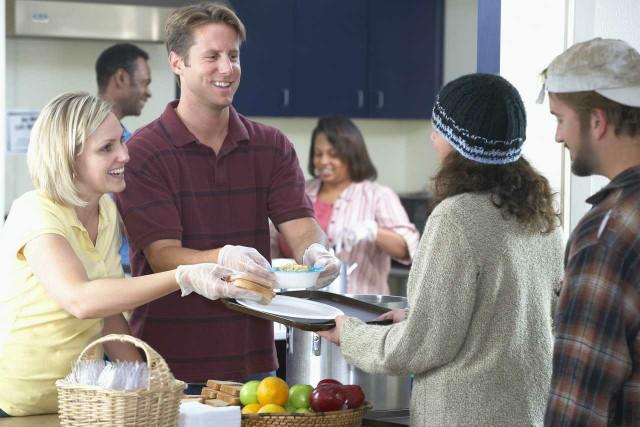 Have you ever volunteered at a homeless shelter to serve food? If not why??