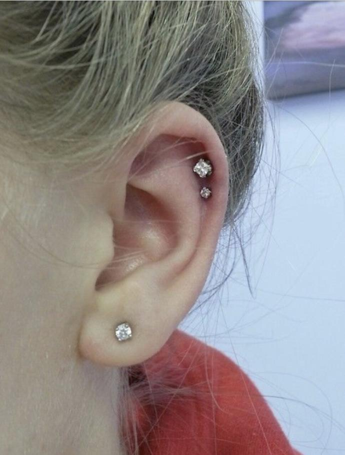 What piercing combo looks better?