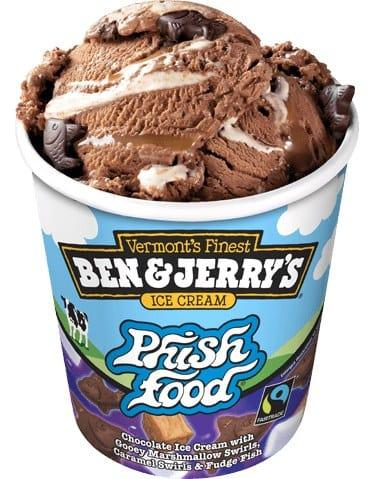What is your favourite Ben and Jerrys ice cream flavour?