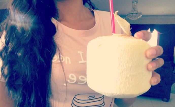 Coconut juice/flesh? 👍🏽👎🏽?