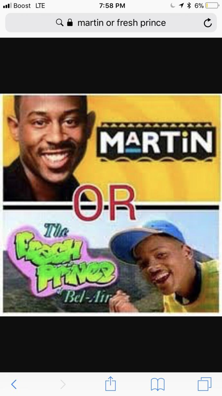 Martin? or Fresh prince of bel-air?