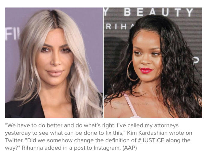 Are celebrities using their status to influence matters that should be left to the legal system?