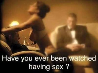 Like being watched having sex