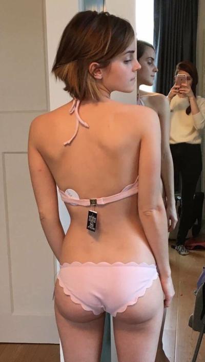 Ass emma watson hot Celebrity bikinis: