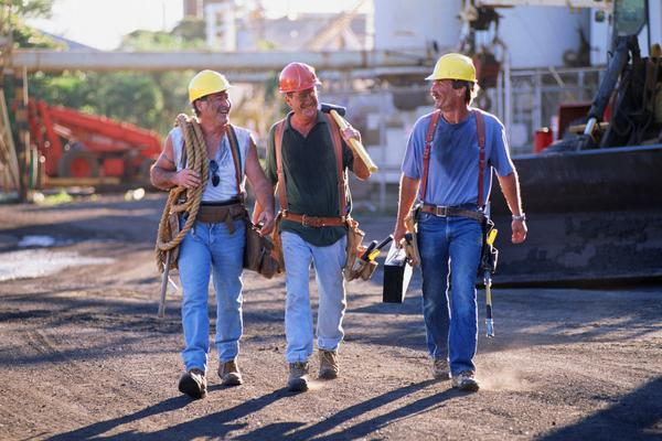 Girls, would you be happy with your man working a blue collar job?