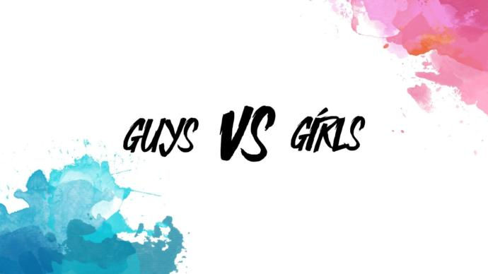 Who comments more on G@G, Girls or Guys?